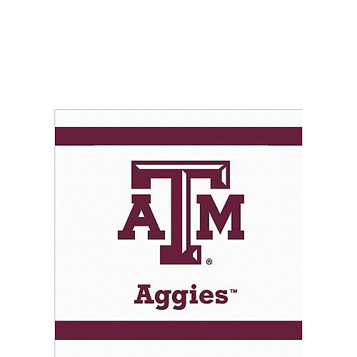 Texas A&M Aggies Beverage Napkins 24ct Image #1