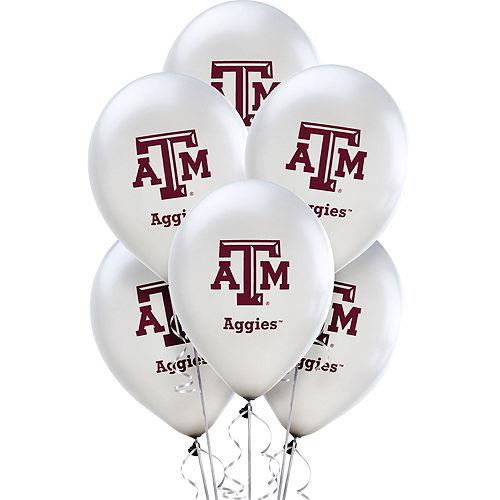Texas A&M Aggies Balloons 10ct Image #1