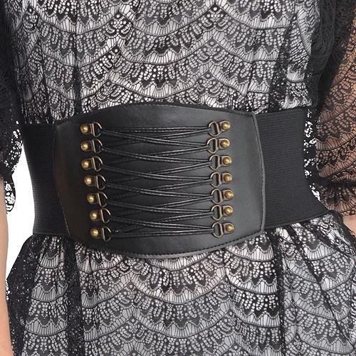 Black Studded Belt Image #1