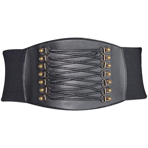 Black Studded Belt Image #2