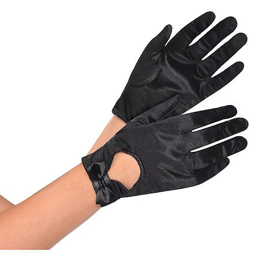 Black Bow Gloves Image #1