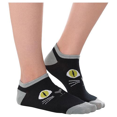 Black Cat Ankle Socks Image #1