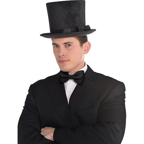 Victorian Black Top Hat Deluxe Image #2