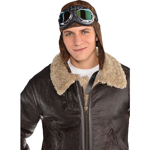 Aviator Hat & Goggles Image #2