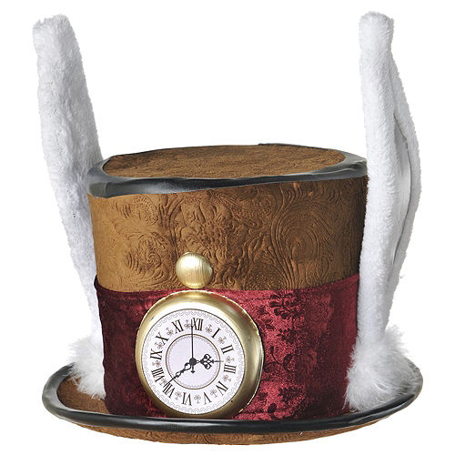 Mad Hatter Hat Deluxe Image #1