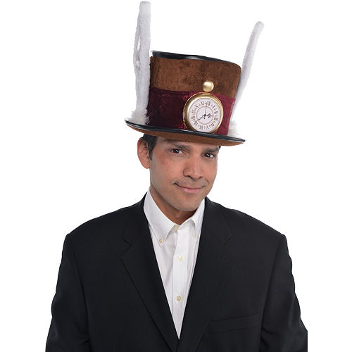 Mad Hatter Hat Deluxe Image #2
