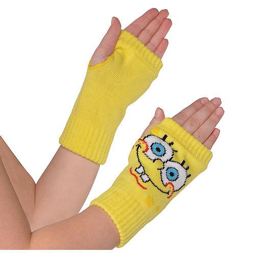 Child SpongeBob Arm Warmers Image #1