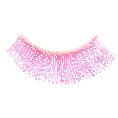 Self-Adhesive Hot Pink False Eyelashes Image #2