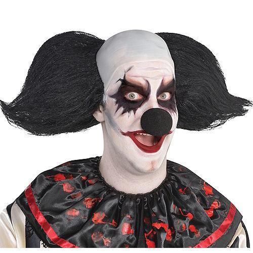 Black Clown Wig - Freak Show Image #1