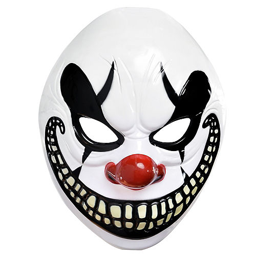Scary Clown Mask - Freak Show Image #1