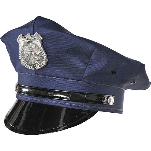 Police Hat Deluxe Image #1