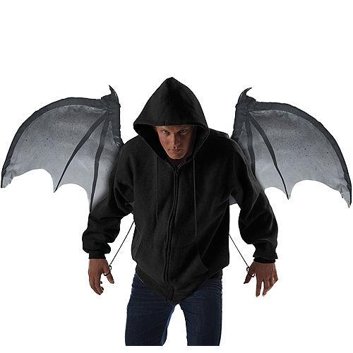 Gray Bloodnight Mechanical Bat Wings Image #1
