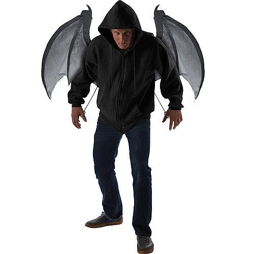 Gray Bloodnight Mechanical Bat Wings Image #2