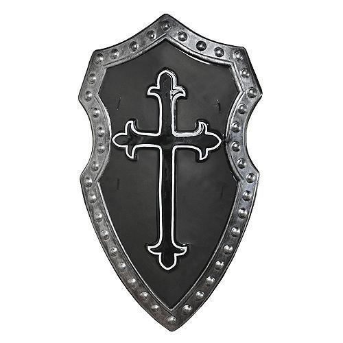 Black Cross Medieval Shield Image #1