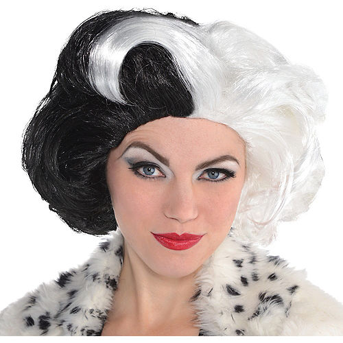 Cruella de Vil Wig Couture - 101 Dalmatians Image #1