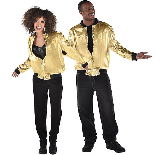 Gold Hip Hop Track Jacket Image #1