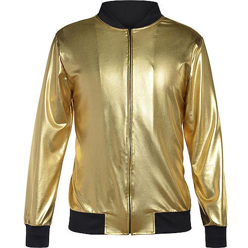 Gold Hip Hop Track Jacket Image #2