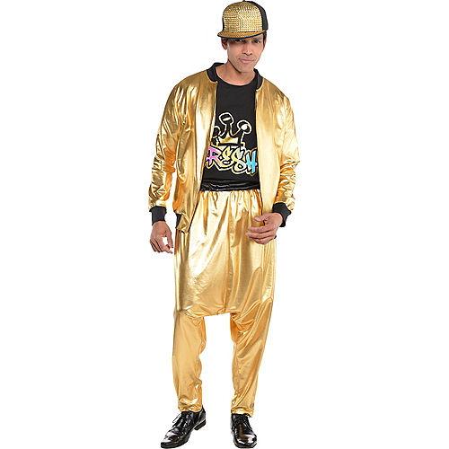 Gold Hip Hop Track Jacket Image #3