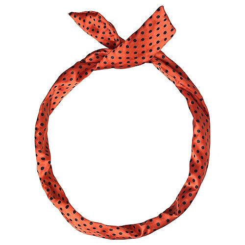 Polka Dot Rockabilly Headscarf Image #1