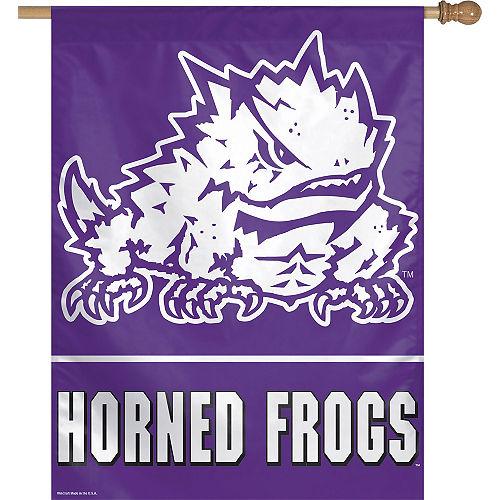 TCU Horned Frogs Banner Flag Image #1