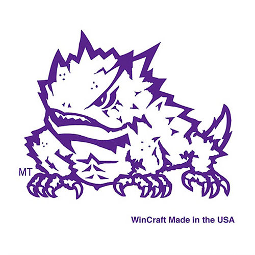 TCU Horned Frogs Face Tattoos 4ct Image #1