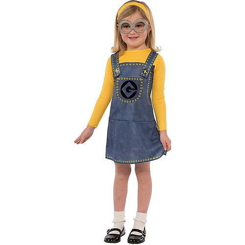 Child Minion Dress Costume Accessory Kit 3pc - Despicable Me Image #1
