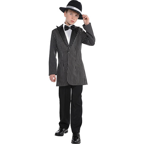 Child Gangster Costume Accessory Kit 2pc Image #1