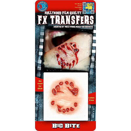 Vampire Bite Wound Prosthetic- Tinsley Transfers Image #2
