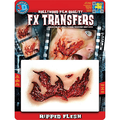 Ripped Flesh Wound Prosthetic- Tinsley Transfers Image #2