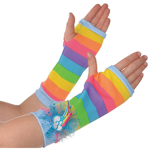 Child Rainbow Dash Arm Warmers - My Little Pony Image #1