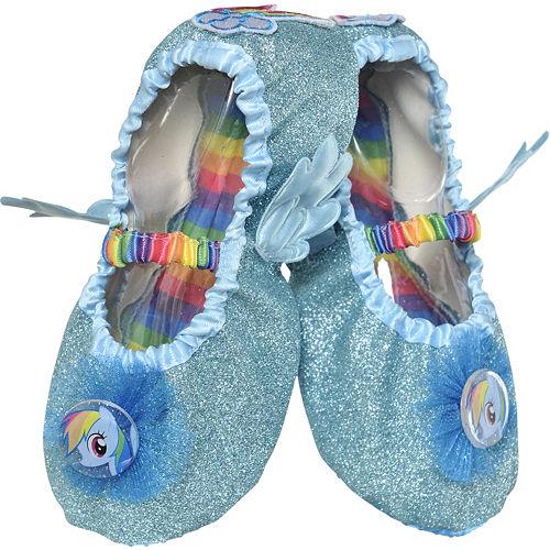 Child Rainbow Dash Slipper Shoes - My Little Pony Image #1