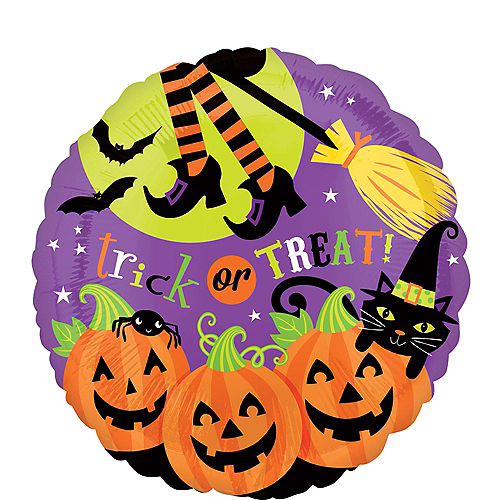 Halloween Balloon - Witch's Crew, 17in Image #1