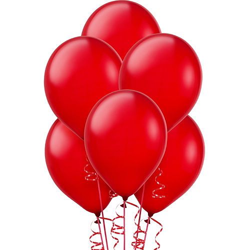 Red Pearl Balloons 15ct, 12in Image #1