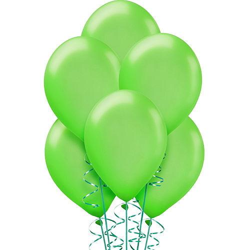 Kiwi Green Pearl Balloons 15ct, 12in Image #1
