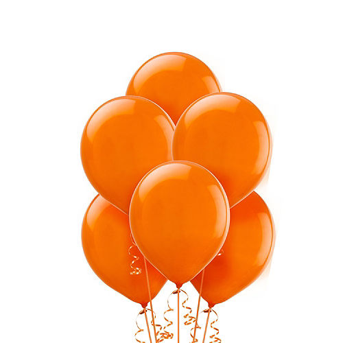 Orange Balloons 20ct, 9in Image #1