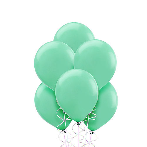 Robin's Egg Blue Balloons 20ct, 9in Image #1