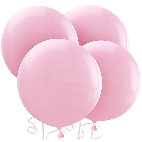 Pink Balloons 4ct, 24in Image #1