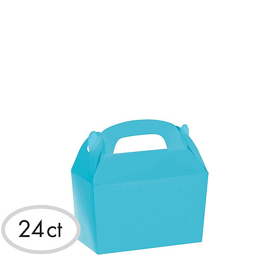 Caribbean Blue Gable Boxes 24ct Image #1
