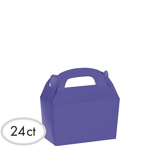 Purple Gable Boxes 24ct Image #1