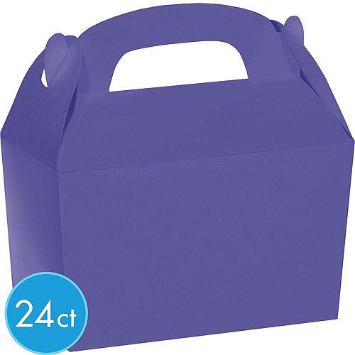 Purple Gable Boxes 24ct Image #2