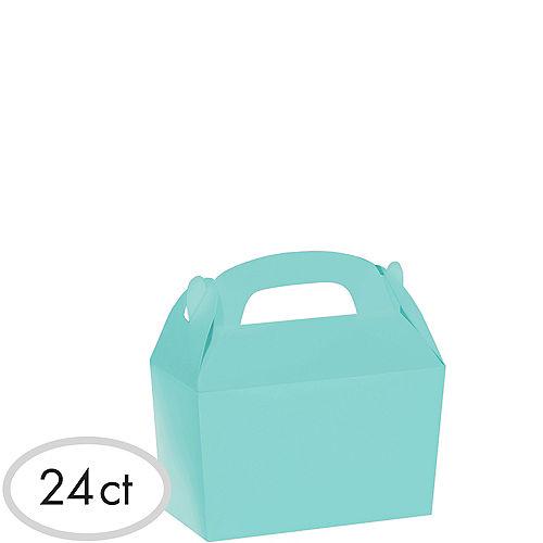 Robin's Egg Blue Gable Boxes 24ct Image #1