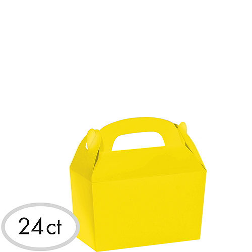 Sunshine Yellow Gable Boxes 24ct Image #1