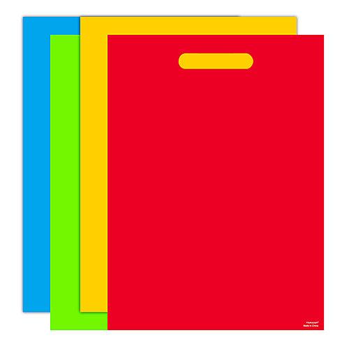 Giant Rainbow Favor Bags 8ct Image #1