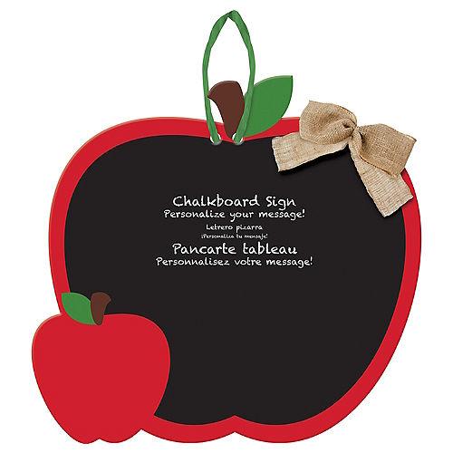 Apple Chalkboard Sign Image #1