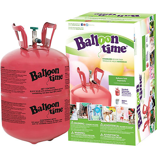 Balloon Time Small Helium Tank 8.9cu ft, 5in Image #1