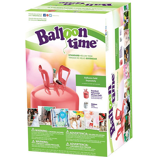 Balloon Time Small Helium Tank 8.9cu ft, 5in Image #2