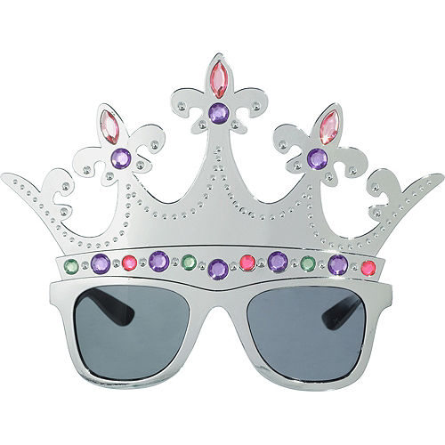Queen Silver Crown Sunglasses Image #1