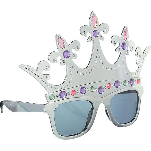 Queen Silver Crown Sunglasses Image #2