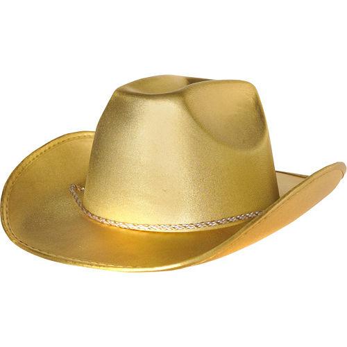 Gold Cowboy Hat Image #1