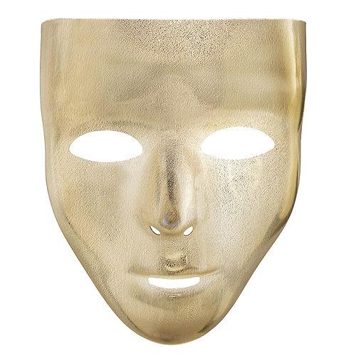 Gold Face Mask Image #1